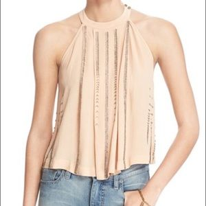 FREE PEOPLE beaded tank